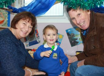 Grandparents' Day in the Nursery
