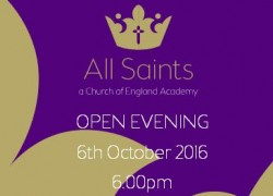 Open Evening 6th October 6.00pm-8.00pm