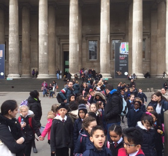 Year 4 – Trip to the British Museum