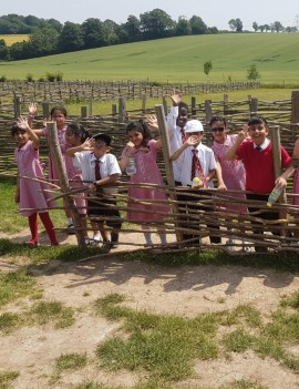 Year 3 at Butser Farm