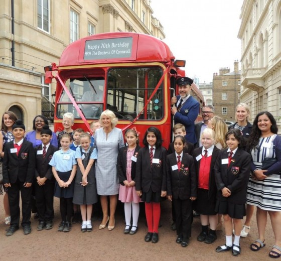 Berkeley Pupils Visit Clarence House