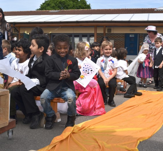 A Royal Wedding at Berkeley Academy
