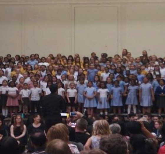 Berkeley Academy at Hammersmith Singing Festival 2018