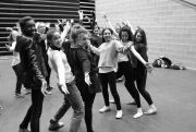Bugsy Malone rehearsals 2