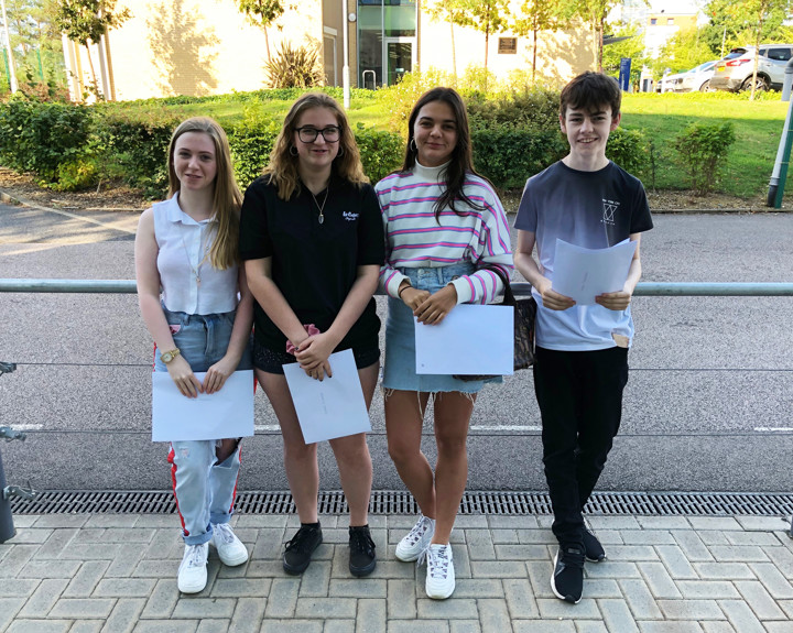 The first ever cohort of BMAT STEM Academy students have collected their GCSE results.