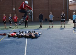 Boswells School Welcomes BMX Champion Mike Mullen