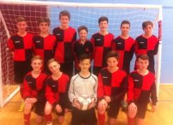 Boswells Yr9 Futsal Win Messa Tournament