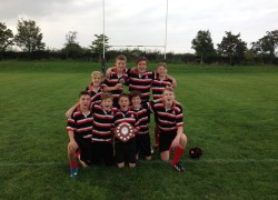Year 8 Essex County Rugby 7's Champions