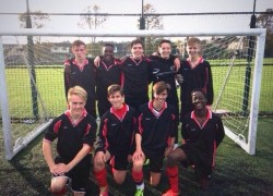 Year 11's Runners up at the District Football Tournament