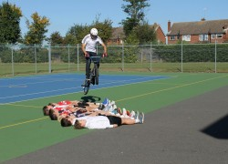 The Boswells School welcome world champion BMX star for latest sports awards