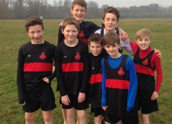 Boswells are X-Country District  Champions