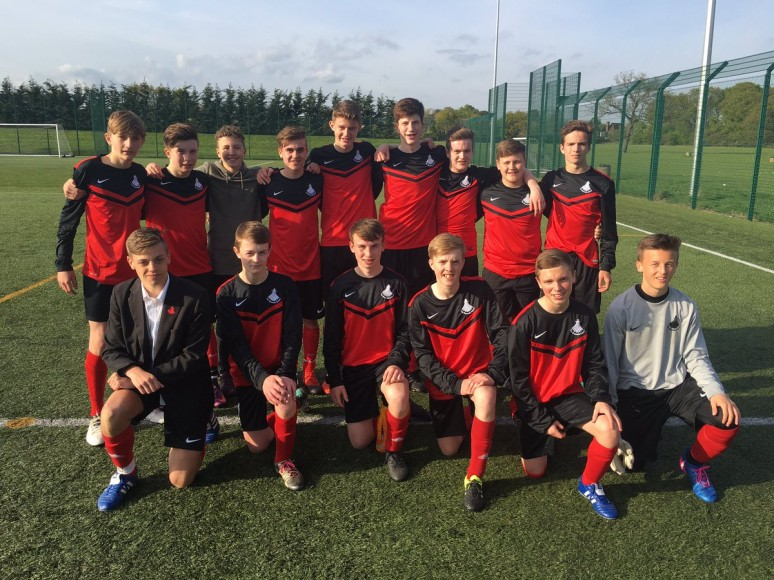 Y10 Football Team CHAMPS