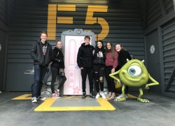 Media Live! Disney Land Paris 6th Form Media Studies Trip 2019