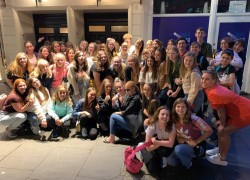 Boswells Students go to see Ex-Pupil in Mamma Mia!