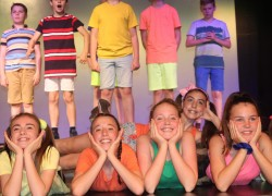 100 Children involved in Performing Arts Summer School!