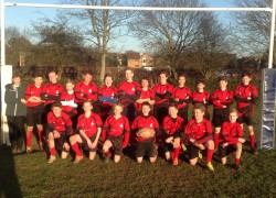 The Boswells School are Year 8 District Rugby Champions