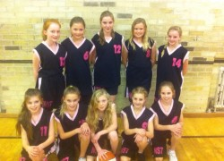 Year 7 Girls are District Basketball Champions