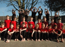Boswells Boys Dance Premiered at the Community Dance Show