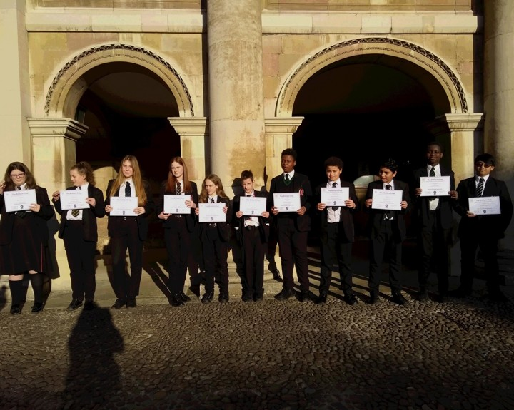 Brilliant students graduate from uni scheme