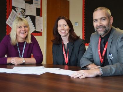 Strengthened Leadership at Burnt Mill Academy