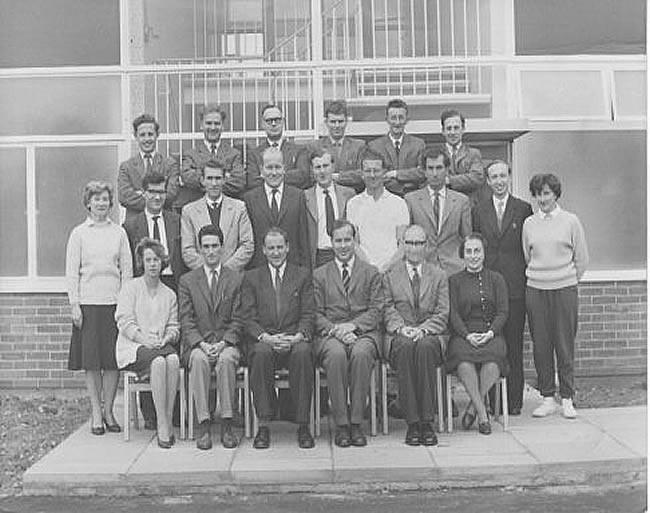 Original Staff 1962