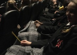 Citizenship students head to the cinema