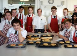 Guest chef inspires students