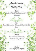Jamie's menu