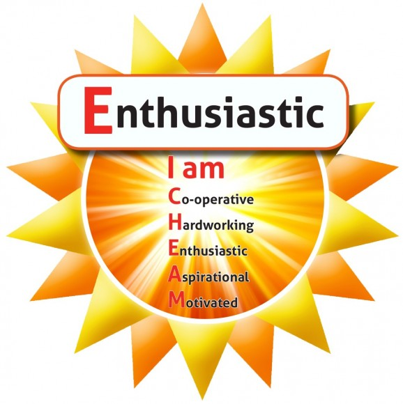 Enthusiastic cropped