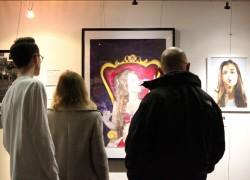 A Level Art Exhibition opens