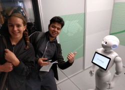 Year 12 MAGT Students Meet Robots