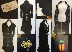 Textiles Students Enter Fashion Competition