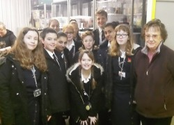 Year 8 Students Deliver Donations to the Sutton Foodbank