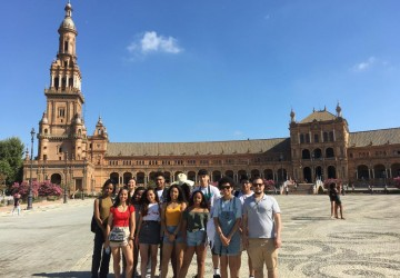 Christ The King students travel to Seville, Spain!