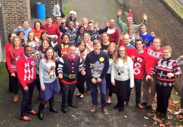 Over �150 raised for Text Santa Christmas Jumper Day