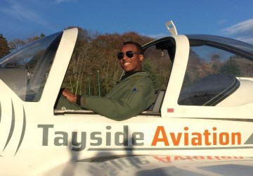 �Learning to Fly with Tayside Aviation� by Upper Sixth student Archibald Forster
