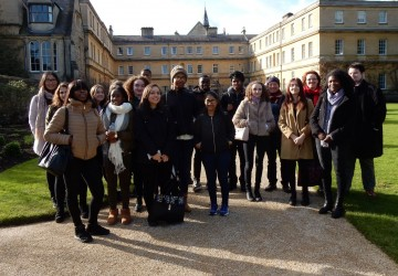 Scholarship students hosted by one of world�s most prestigious universities