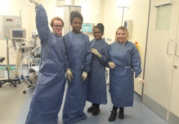 BTEC Science students visit Queen's Mary's Hospital
