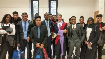 CTK students compete in the Bar National Mock Trial Competition