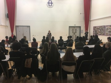 Victoria Greenwood gives Criminology talk