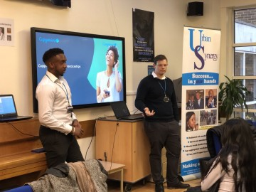 Life Skills with Capgemini and Urban Synergy