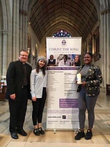 Chaplaincy students represent CTK at the Diocesan Good Samaritan Mass