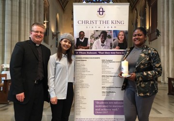 Chaplaincy students represent CTK at the Diocesan Good Samaritan Mass