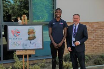 Lorraine Ugen - British Athlete and Alumni