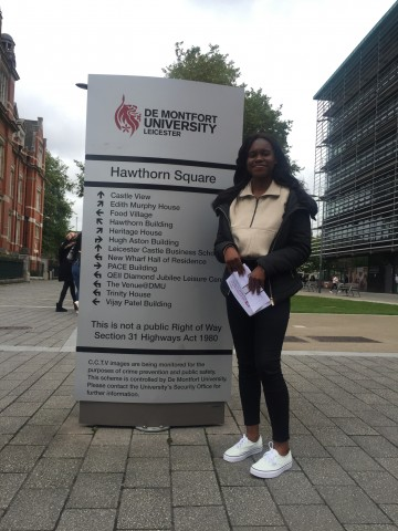 Annie Koudiane - My Start in Studying at De Montfort University