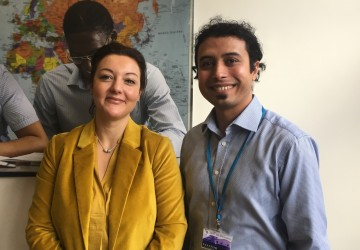 Valeria Locatelli (Chief Auditor) and Sumit Sabharwal from M&G Investments