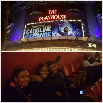 """Caroline, Or Change"" theatre trip!"