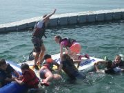 Year 6 take the plunge at Stubbers Water centre