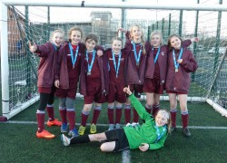 Esher District football champions!