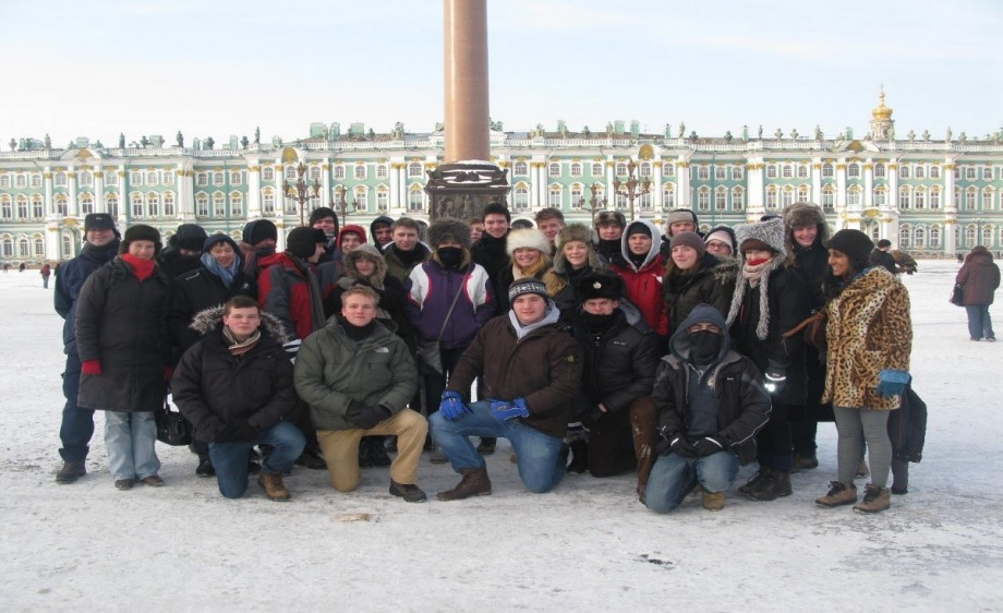 History trip russia 2012